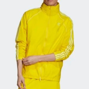 ADIDAS Men Yellow SST Windbreaker Jacket